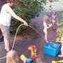 Sommer, Sonne, Wasserspiele